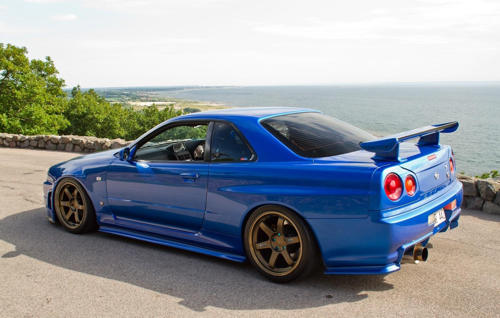 Wallpaper Japan Landscape Sea Blue Cars Skyline Island Jdm