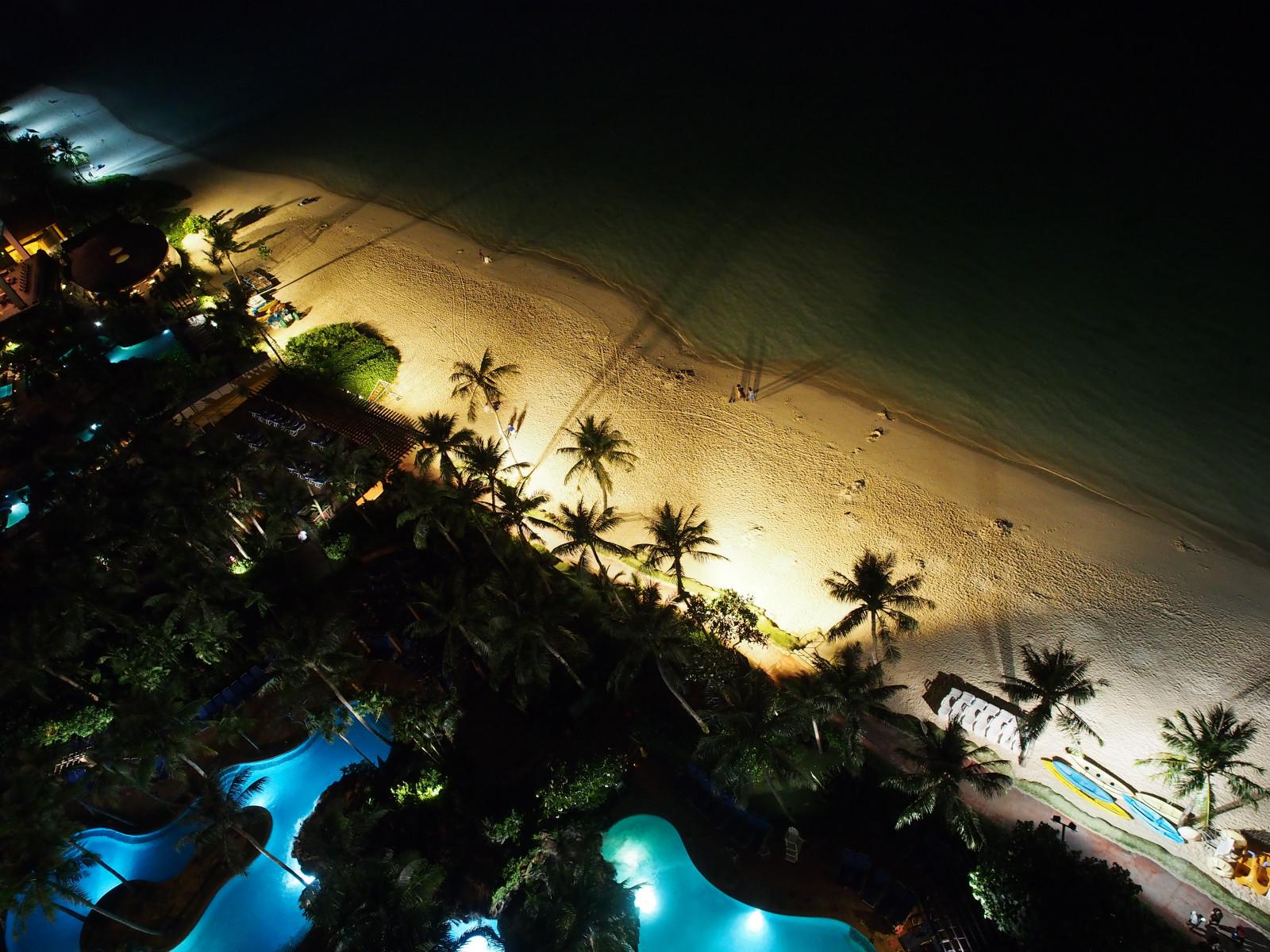 Fondos De Pantalla Paisaje Mar Bah A Noche Agua Naturaleza  ~ Arboles De Sombra Para Piscinas
