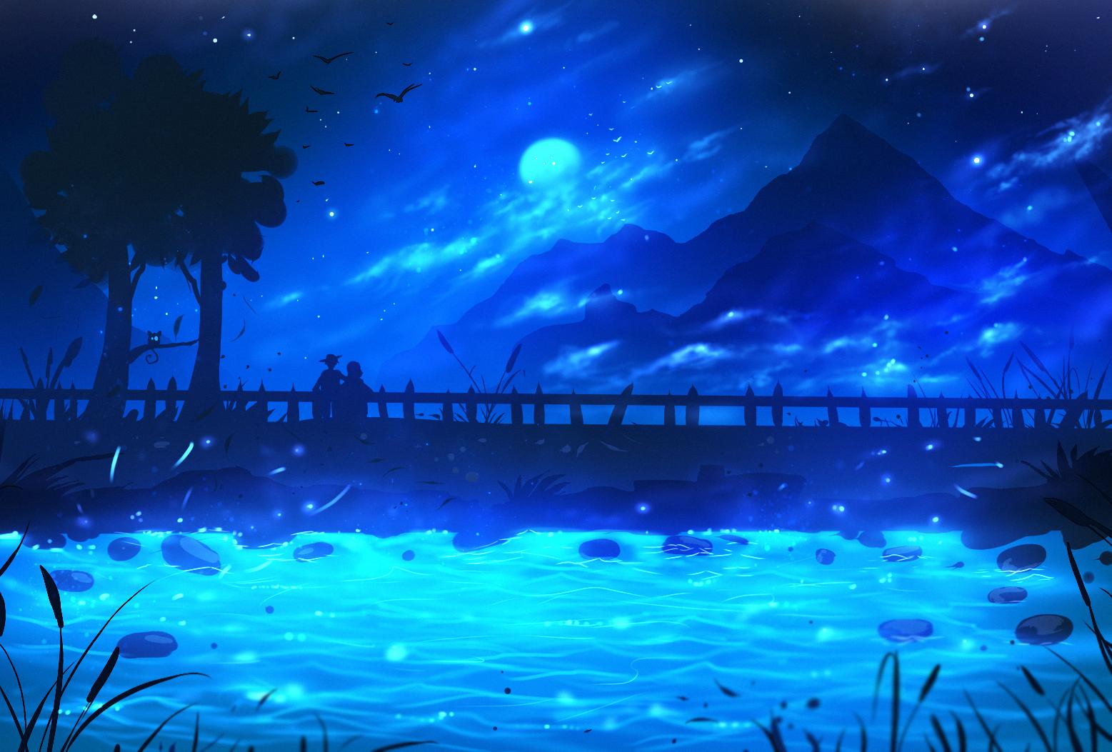 Gece Resmi çizimi