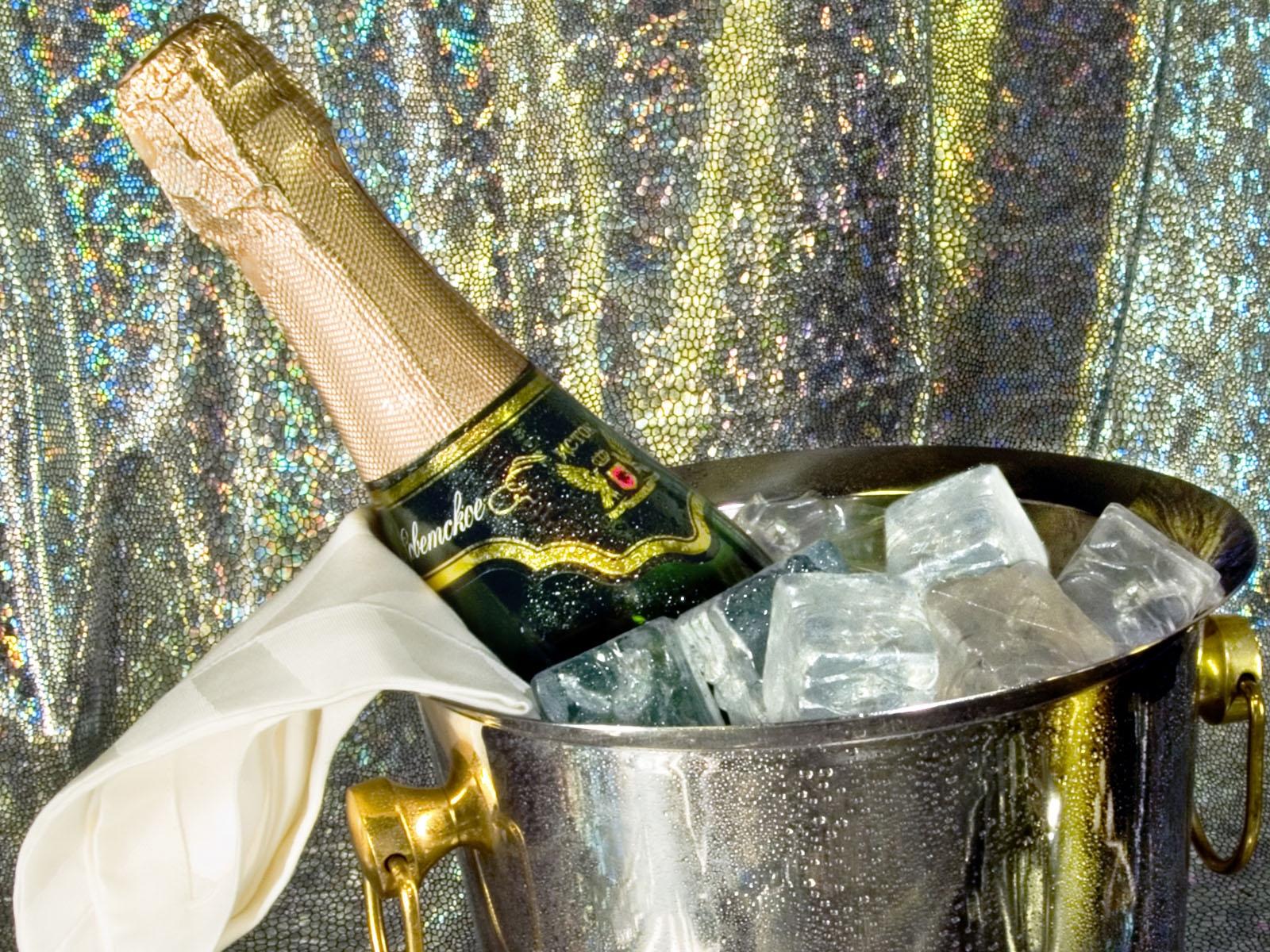 Картинки шампанское со льдом