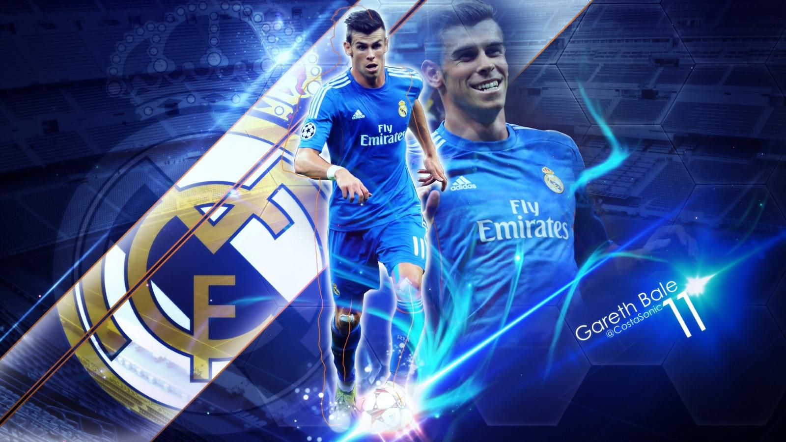 Wallpaper Real Madrid Gareth Bale Pemain Sepak Bola