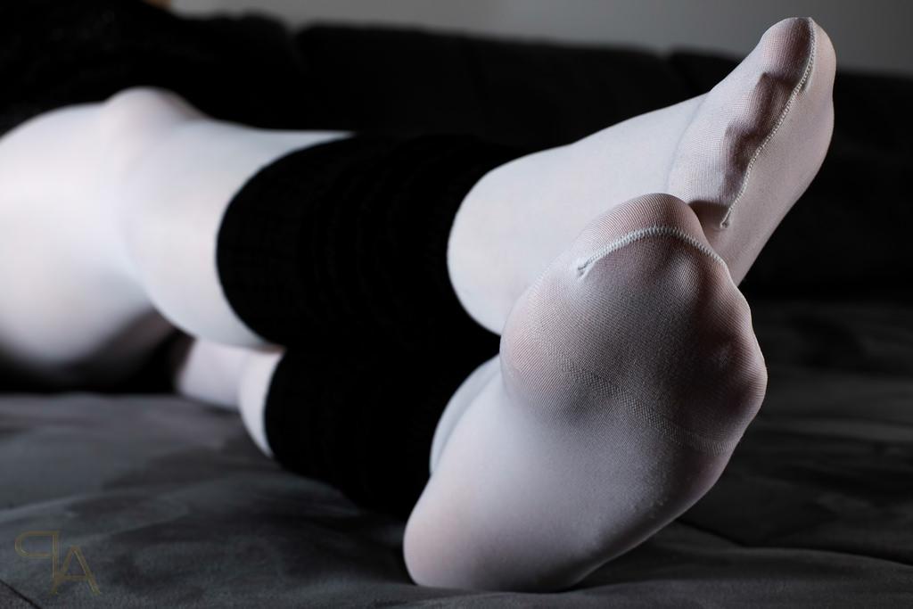 strumpfhose bein fetisch