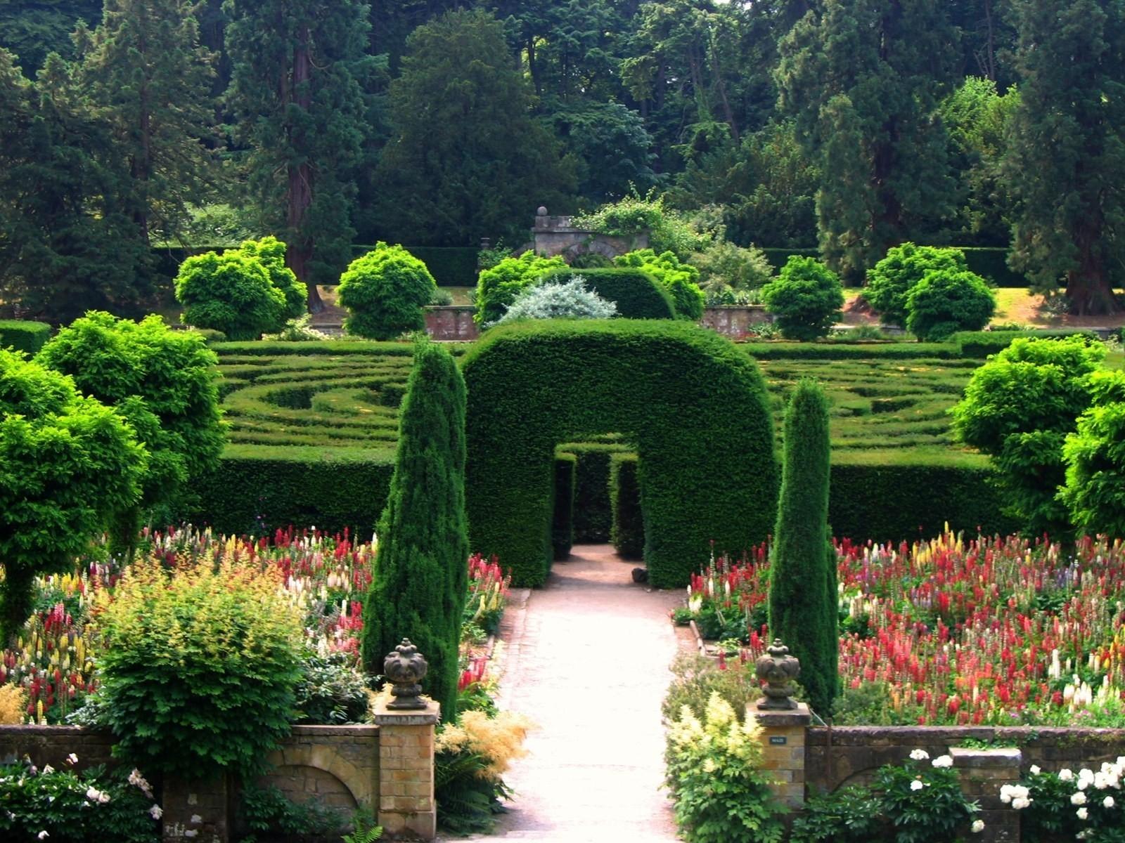Картинки красивые сады и парки