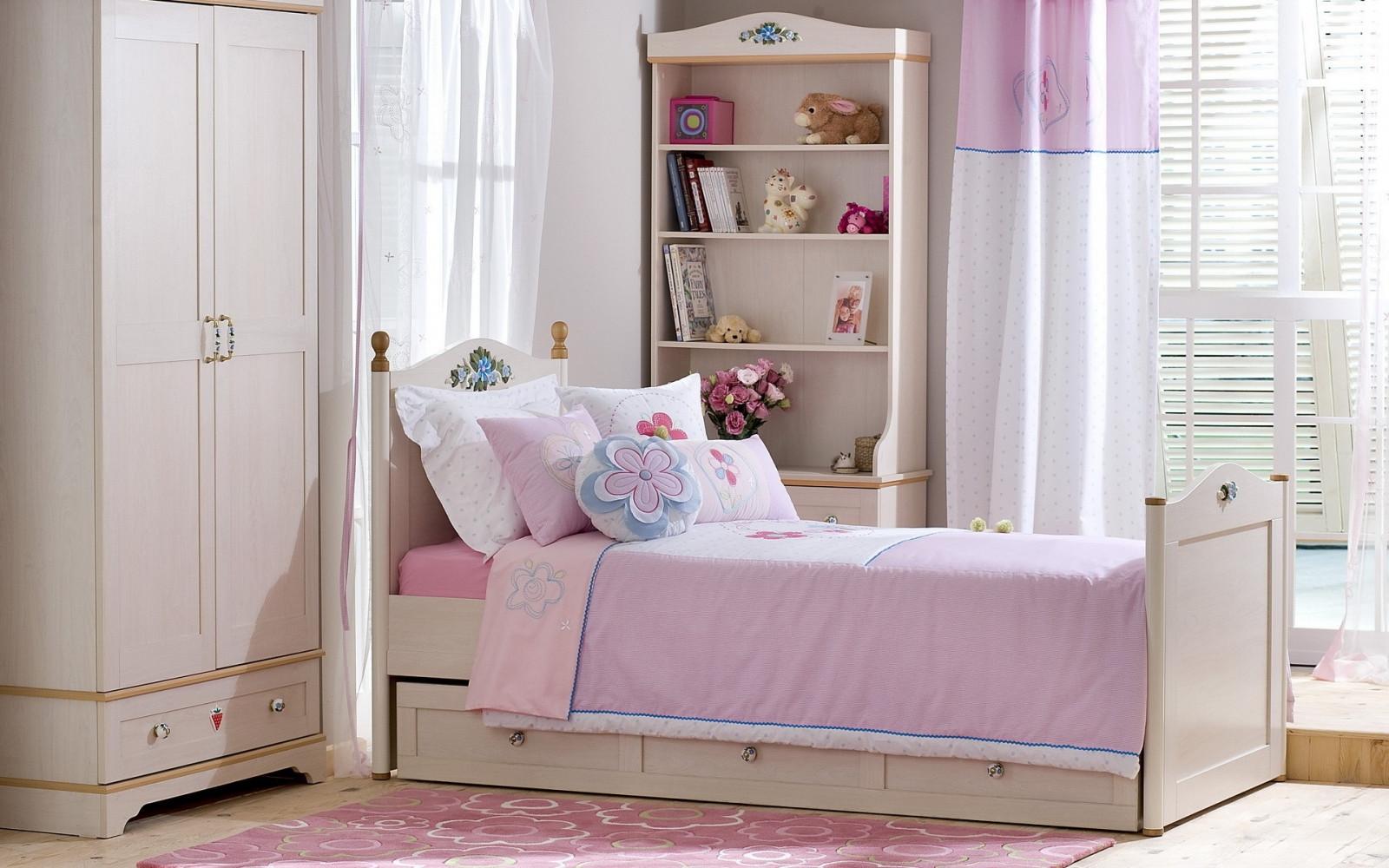 Sfondi : camera, interno, rosa, Camera da letto, interior ...