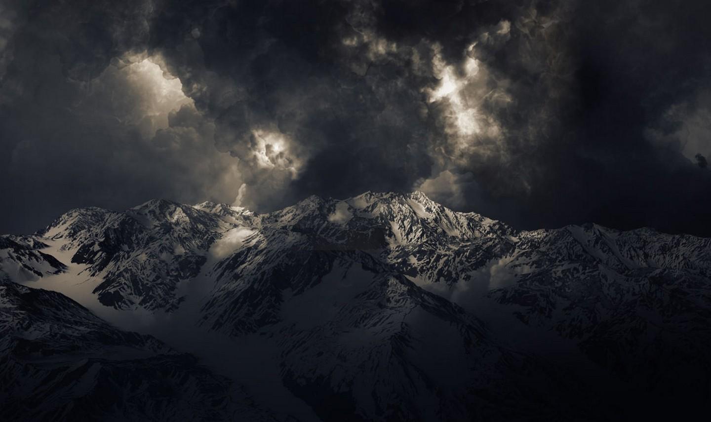 Top Wallpaper Mountain Dark - landscape_nature_mountains_storm_dark_snowy_peak_sunlight_summit-70967  Perfect Image Reference_305429.jpg!d
