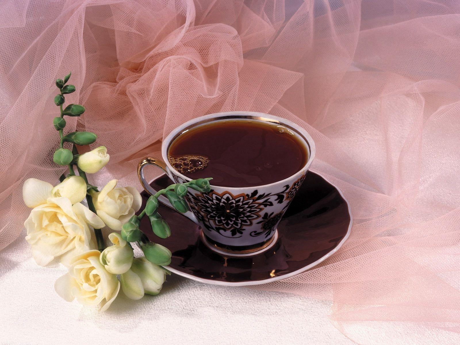 Открытки и анимации с добрым утром и кофе