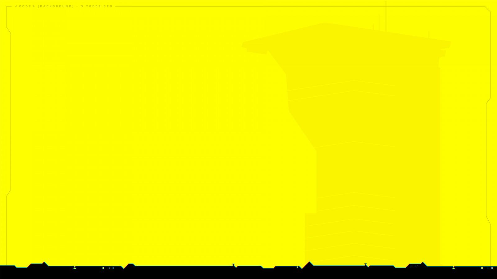Wallpaper : cyberpunk, Cyberpunk 2077, yellow background ...