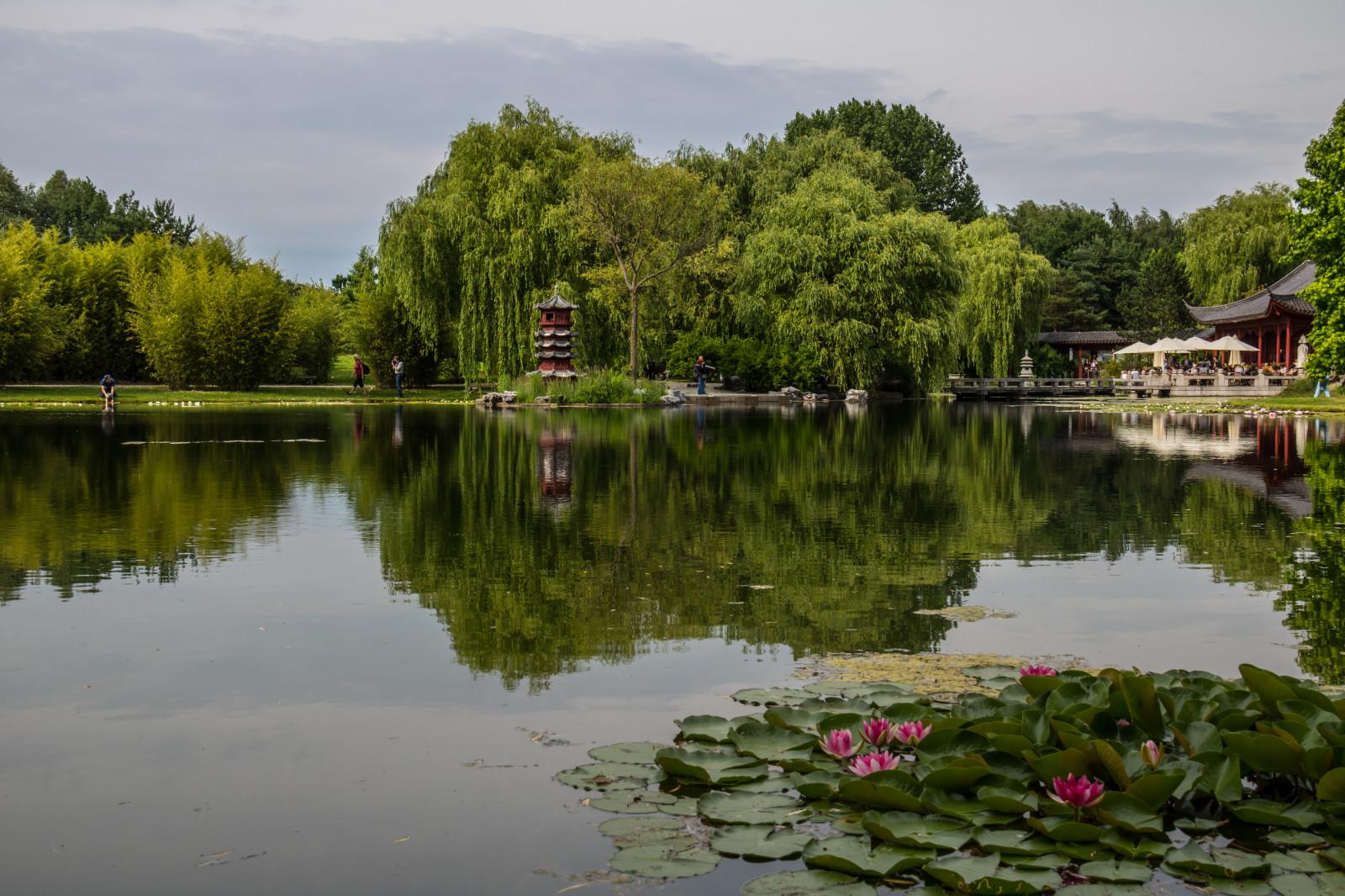 fond d 39 cran paysage jardin lac eau la nature r flexion parc allemagne rivi re berlin. Black Bedroom Furniture Sets. Home Design Ideas