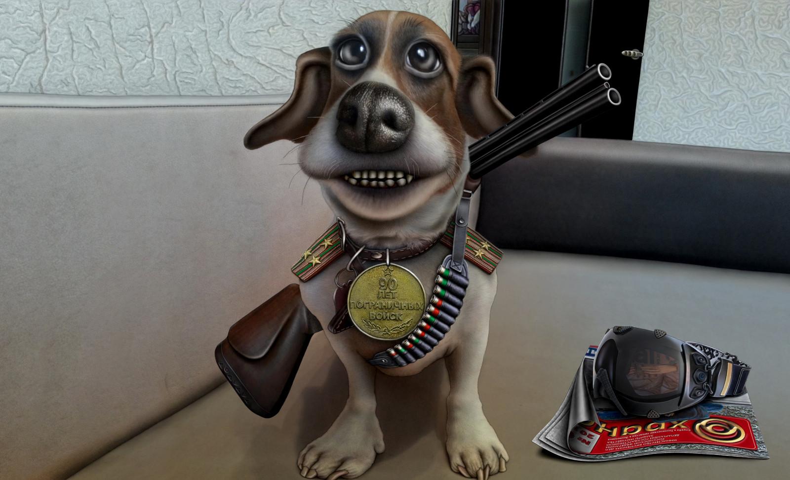 Wallpaper Senjata Gambar Kartun Patung Lencana Seni Keren Anjing Mamalia