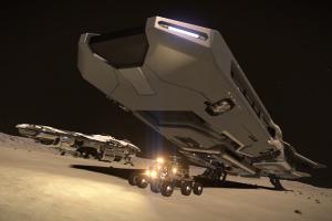 Wallpaper : space, vehicle, Elite Dangerous, Anaconda spaceship
