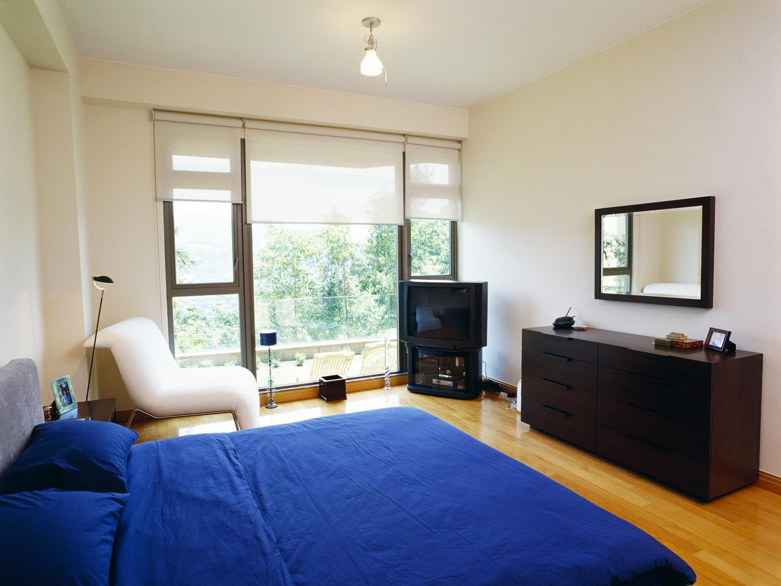 Hintergrundbilder Zimmer Innere Bett Fernseher Schlafzimmer