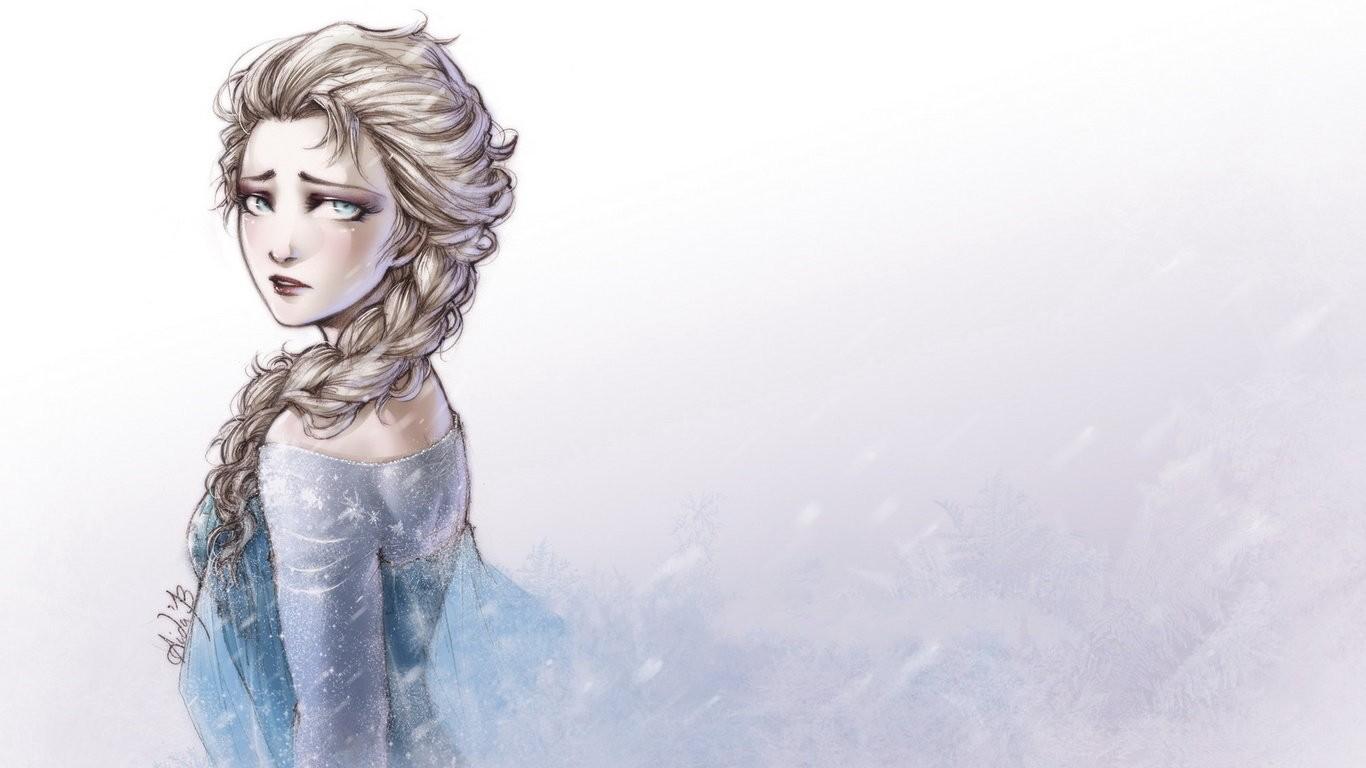 Hintergrundbilder Zeichnung Fantasie Madchen Gefrorener Film