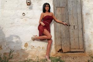Wallpaper : temple, people, model, mythology, Ella Mai ...