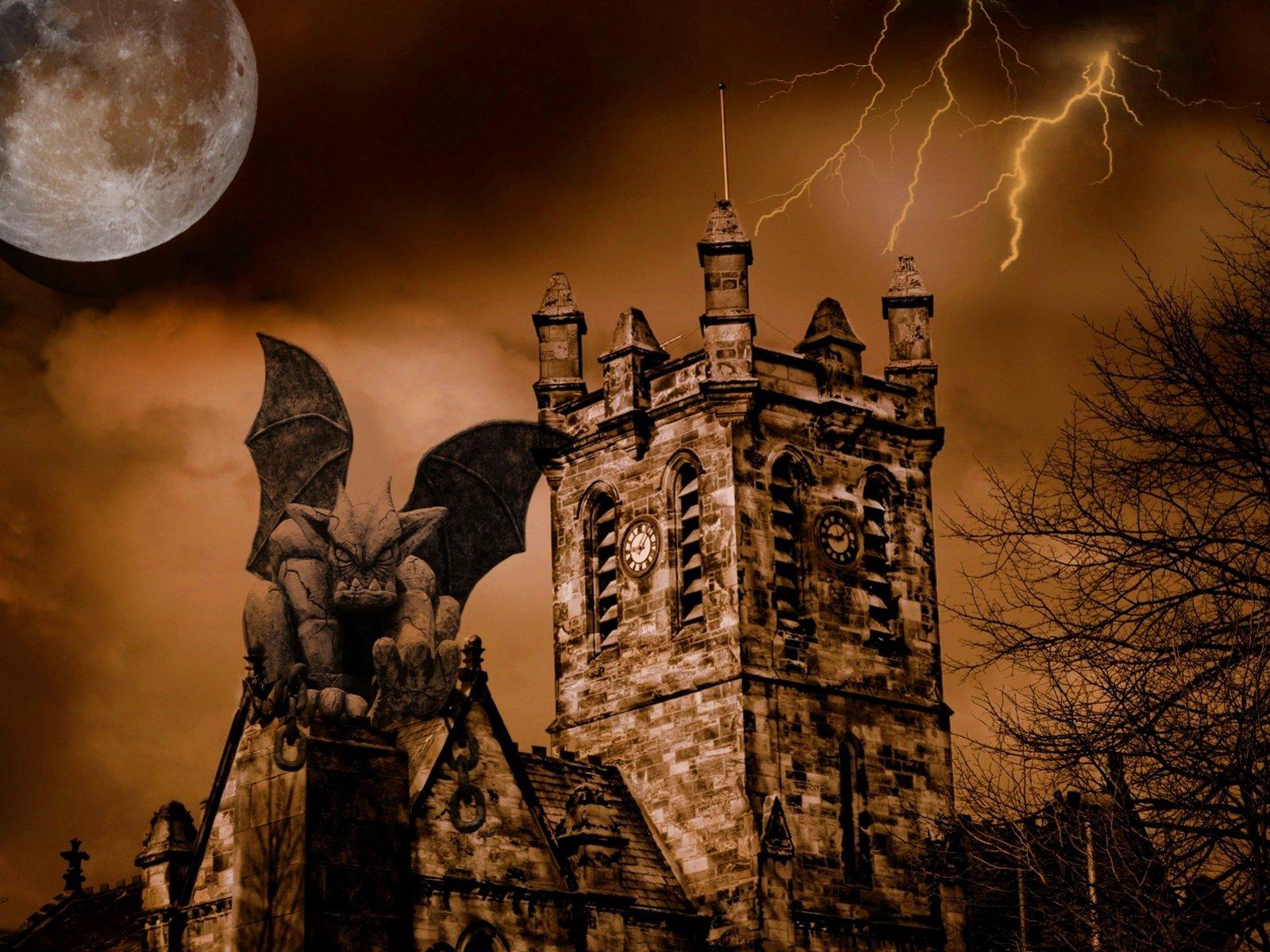 Готичные картинки хэллоуин