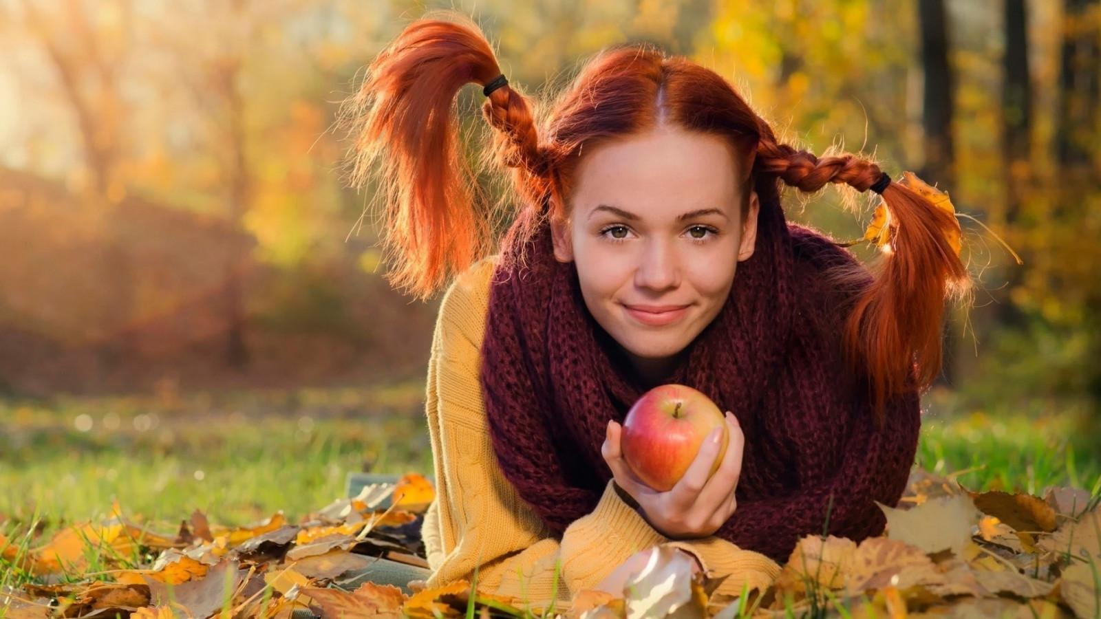 рыжие молодые девушки фотосет