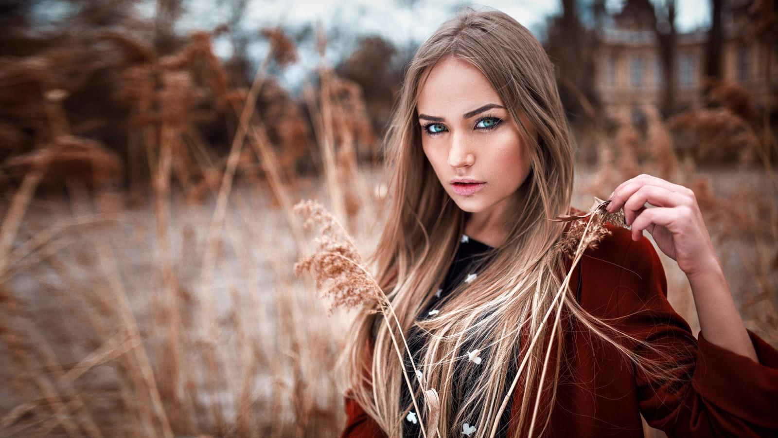 Wallpaper : sunlight, women outdoors, redhead, long hair