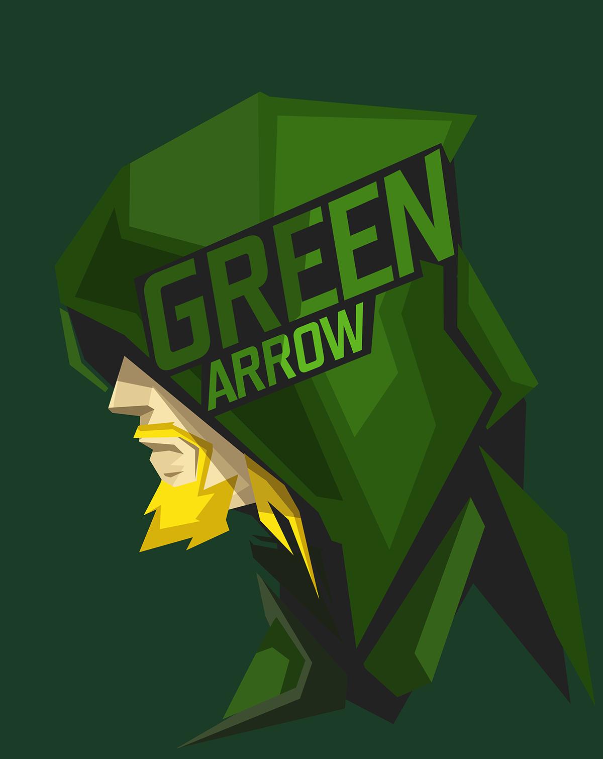 wallpaper : illustration, logo, green, cartoon, superhero, dc comics