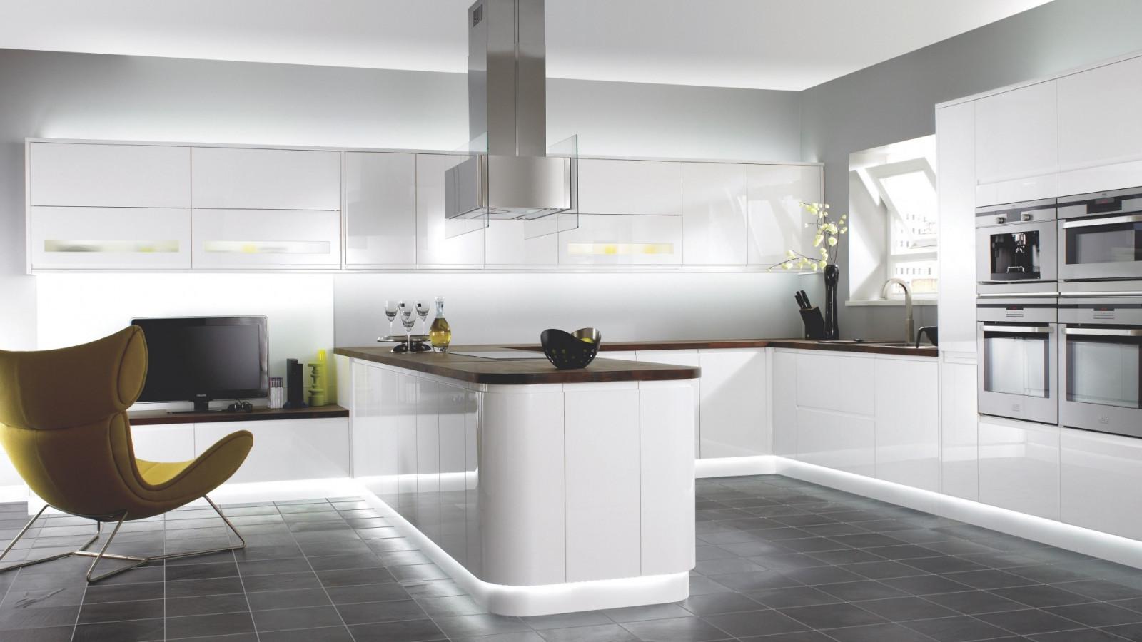 Fond d 39 cran chambre int rieur cuisine design d for Technologie cuisine