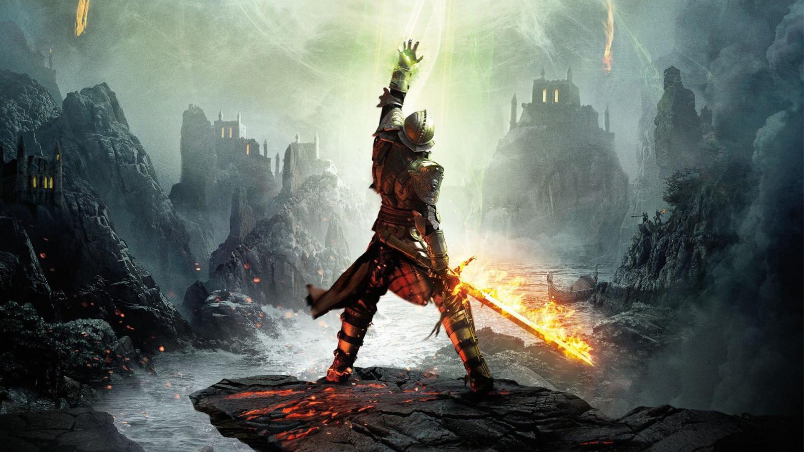 wallpaper armor sword warrior dragon age mythology dragon age rh wallhere com