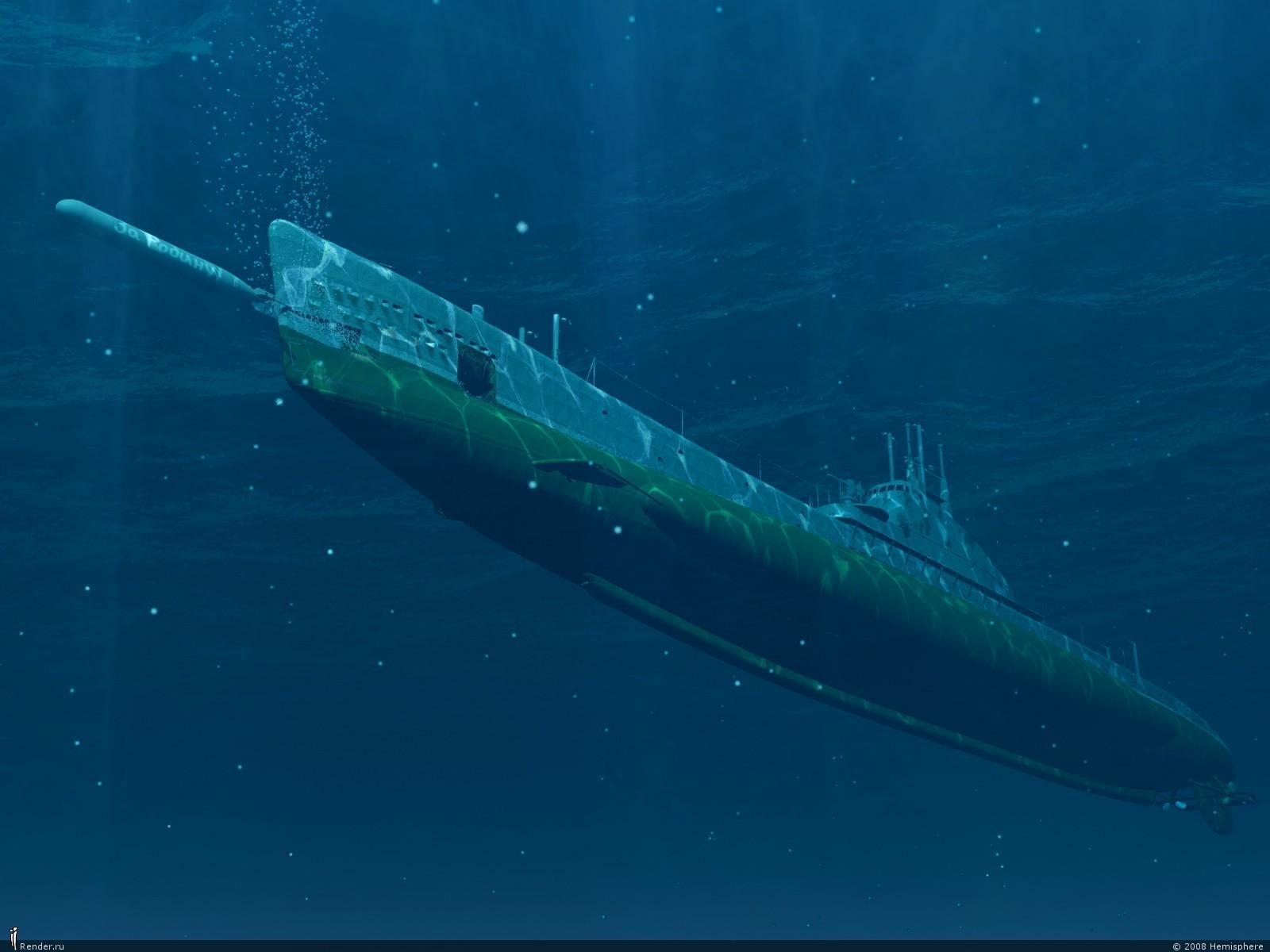 подводная лодка тема