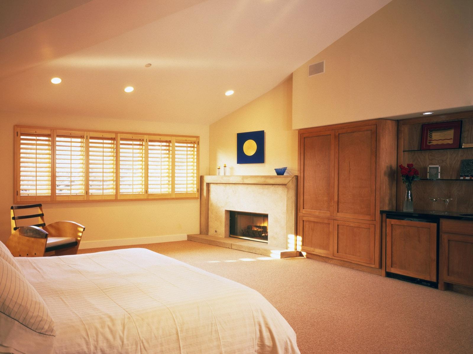 wallpaper bed house fireplace bedroom interior design cottage rh wallhere com