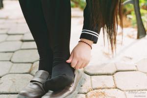 calcetines escuela secundaria