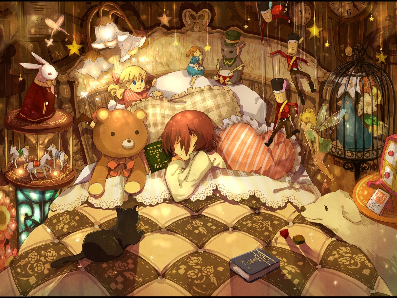 Wallpaper Room Childhood Disorder Bedding Toys