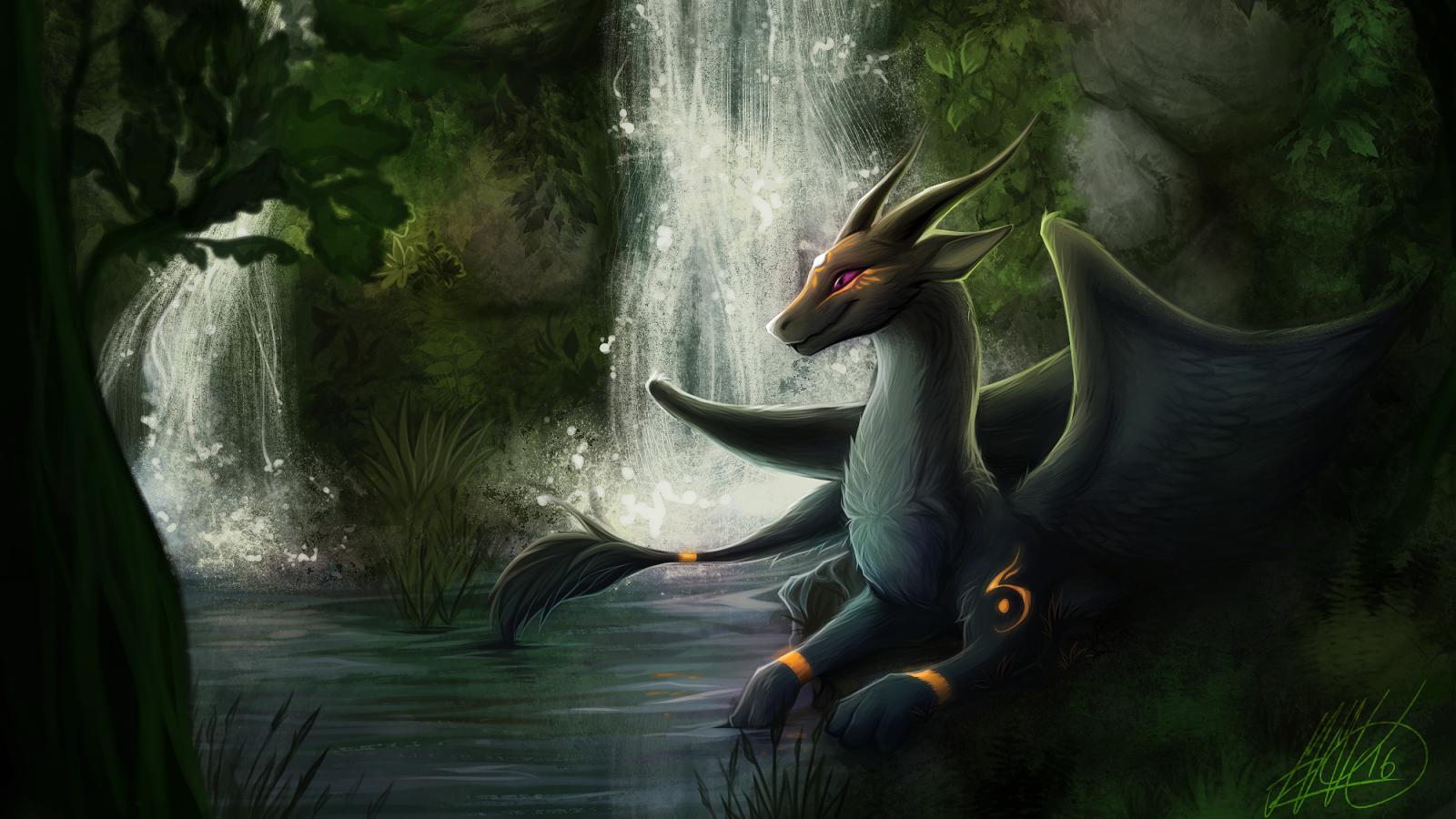 Anthro dragon