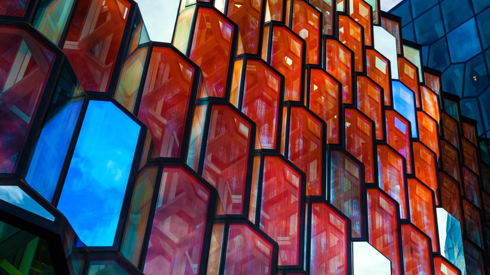 デスクトップ壁紙 ペインティング 窓 建築 建物 壁 対称