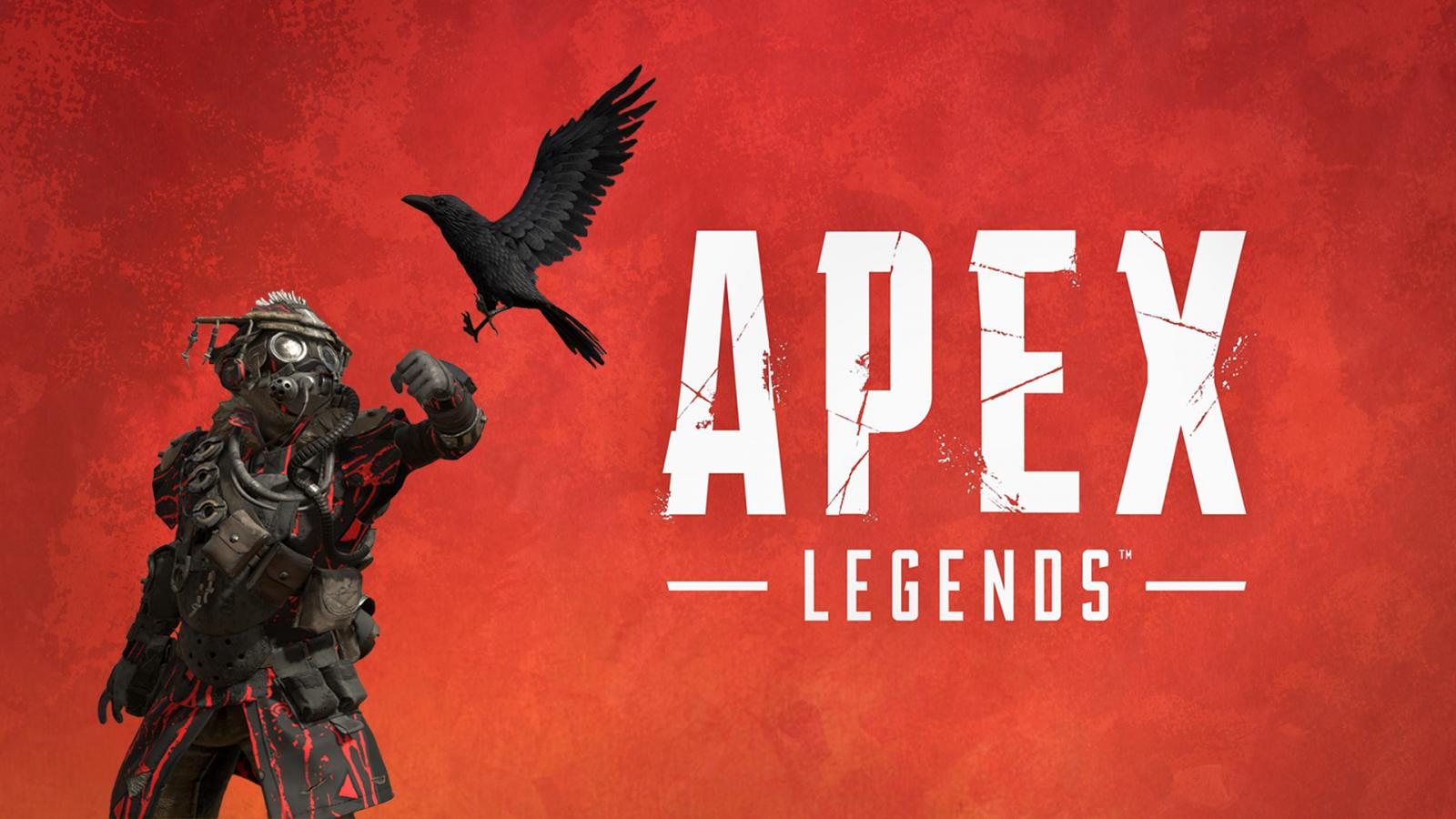 デスクトップ壁紙 Apex Legends Blood Hound 赤 カラス 1920x1080