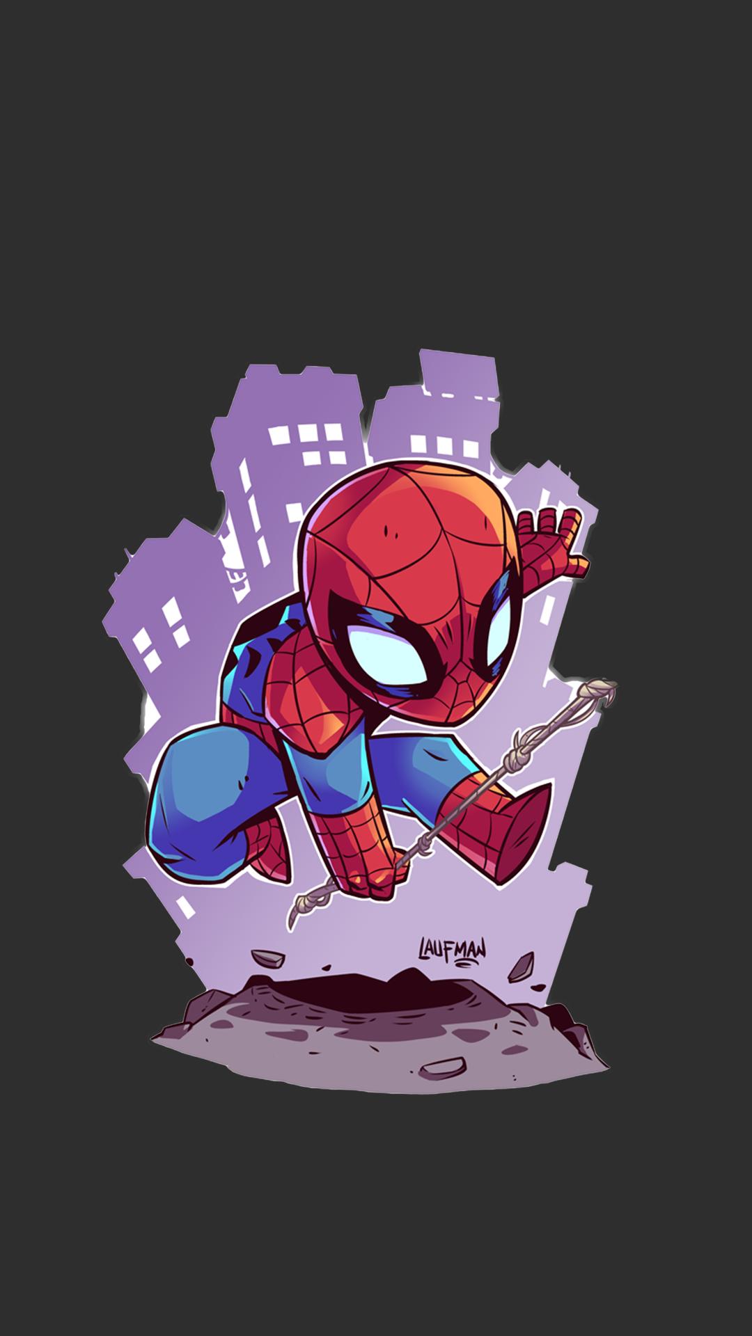 Sfondi illustrazione cartone animato supereroe marvel comics