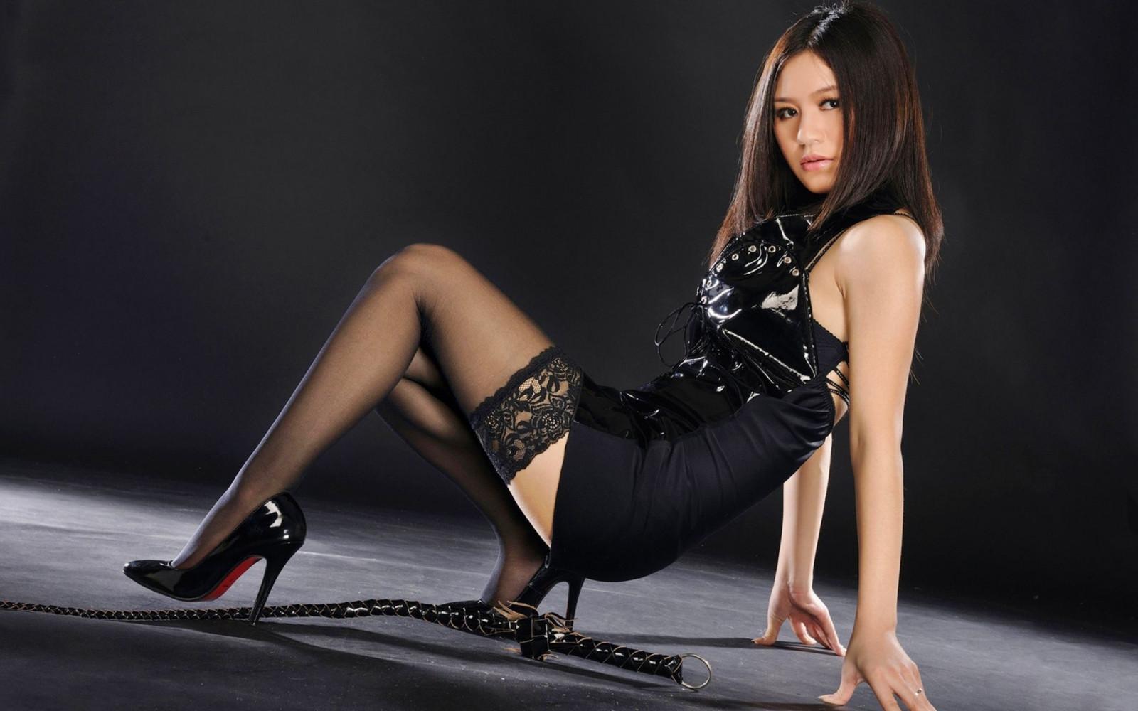 картинки китаянки красивых девушек чулках