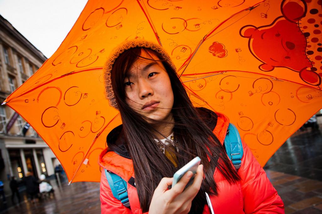 Wallpaper Face Contrast Colorful People Portrait City