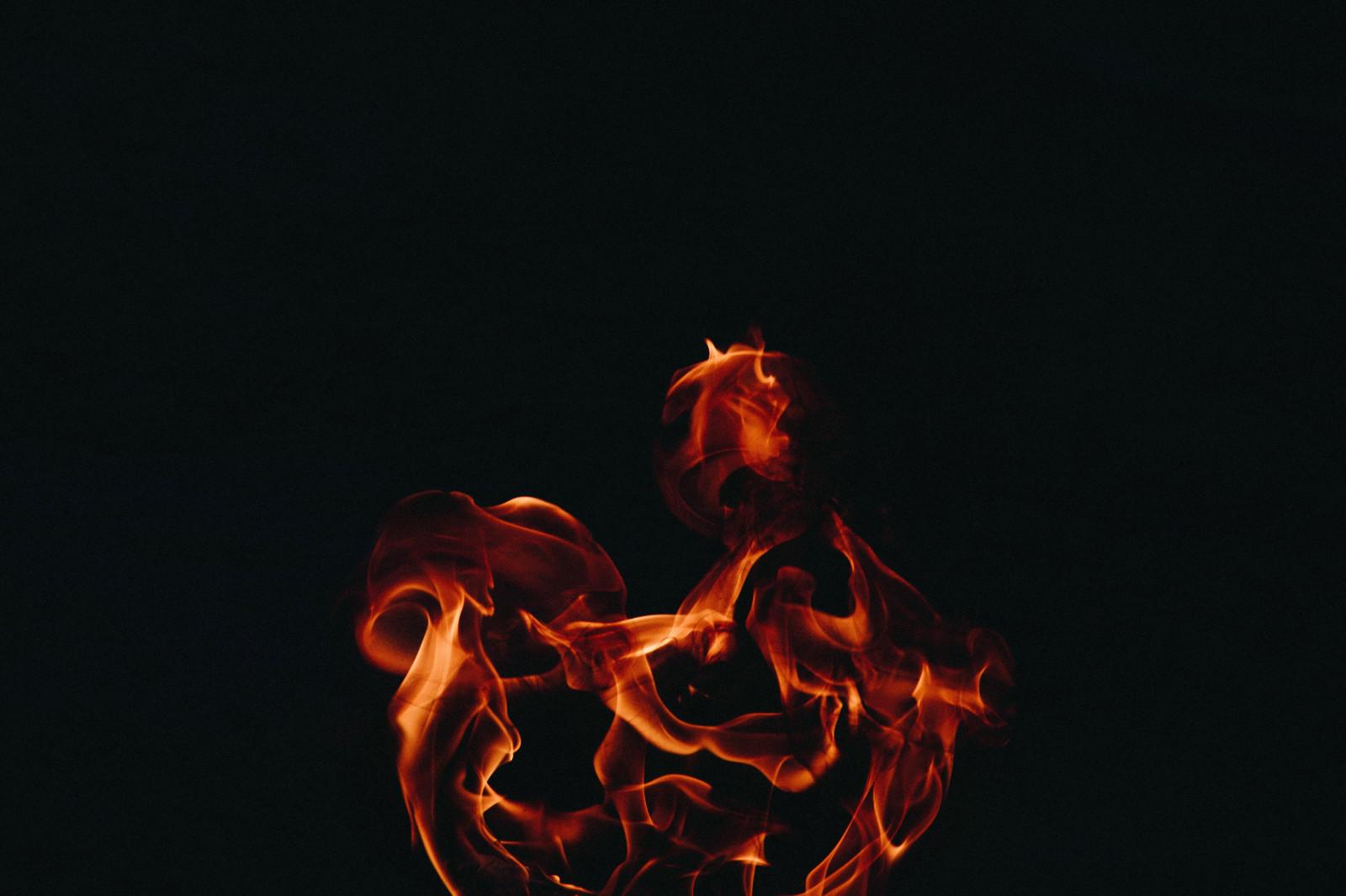 Fond d 39 cran feu flamme fond sombre 5381x3587 for Fond ecran sombre