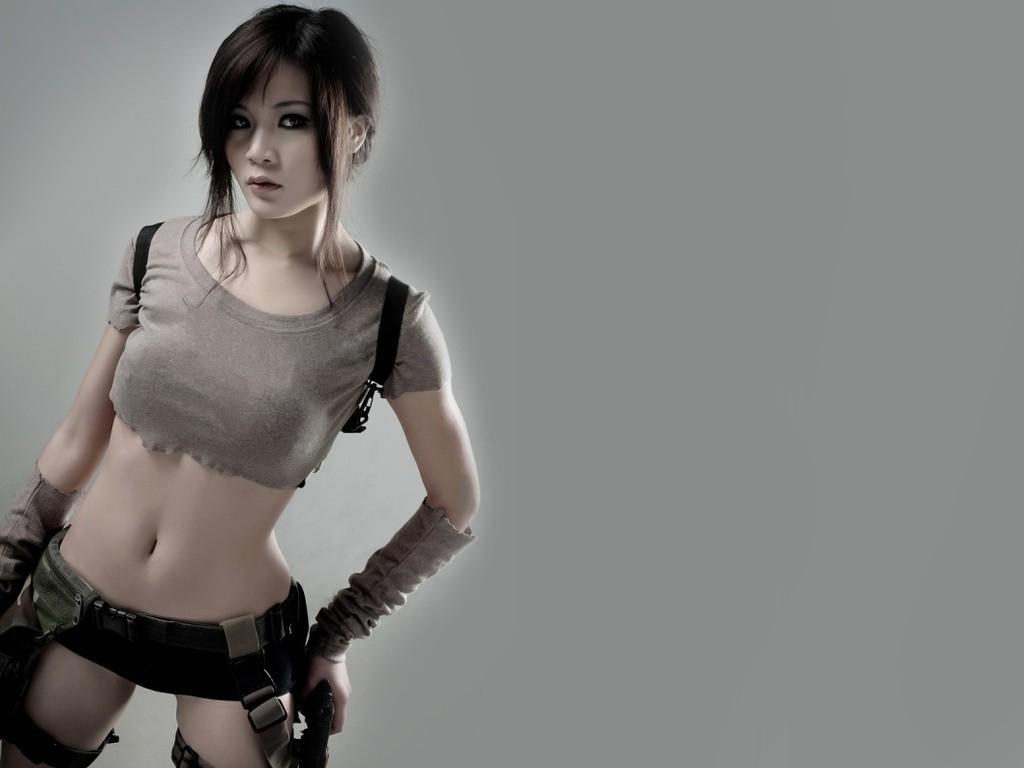 Tomb raider lara croft imágenes cosplay modelos