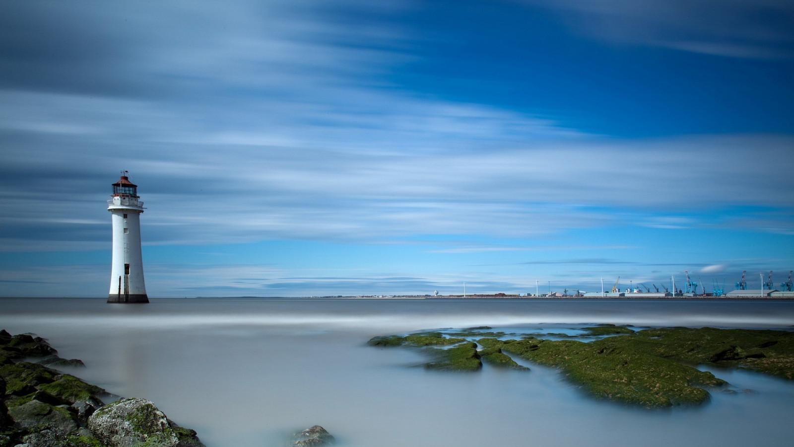 День добра, картинки маяки на море