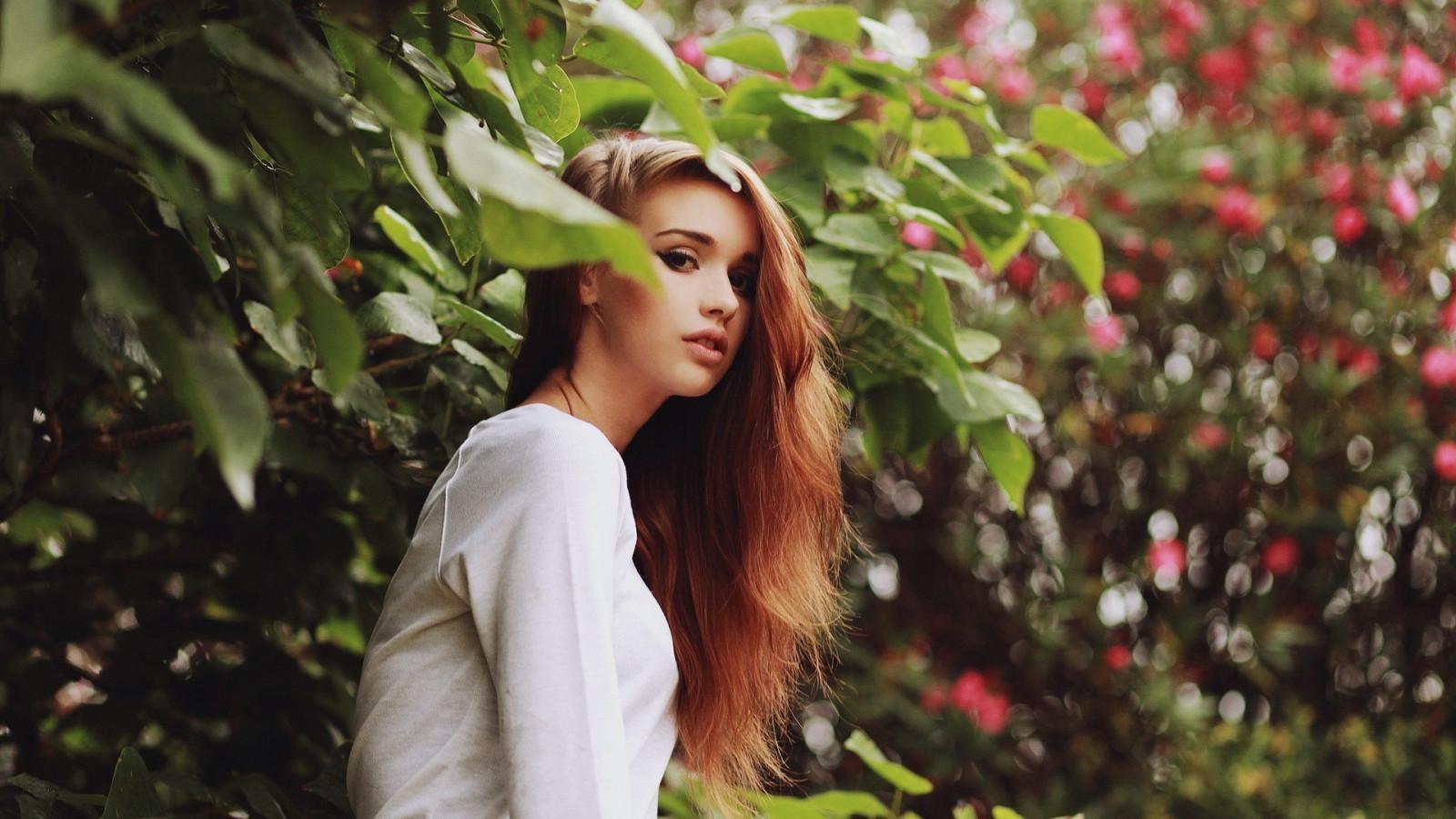 Hintergrundbilder : Gesicht, Frau, Modell-, Porträt, lange