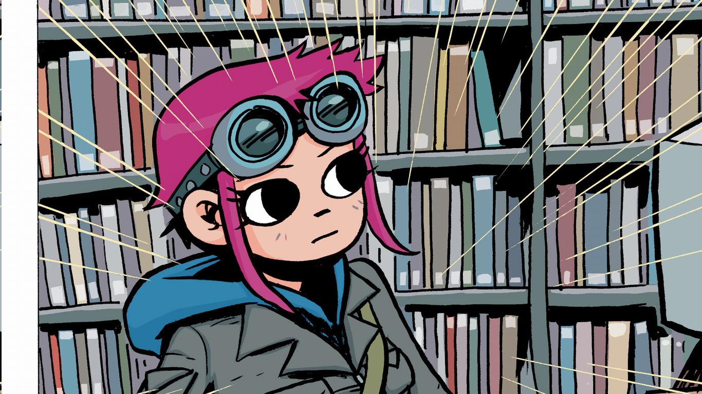 Wallpaper Illustration Anime Glasses Cartoon Scott