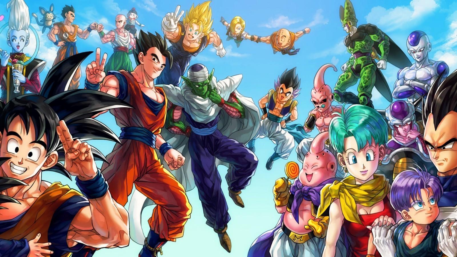 Son Goku Dragon Ball Z Android 18 Bulma Vegito Gohan Majin Boo Piccolo Trunks