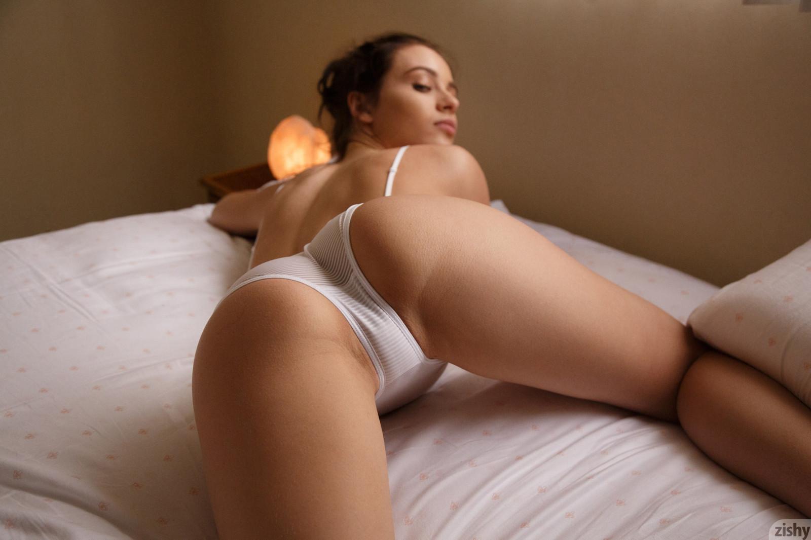 Lana rhoades white lingerie