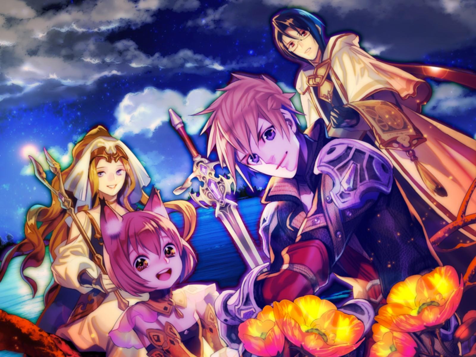 Anime Rpg Mythology Rpg Maker Screenshot Computer Wallpaper Mangaka