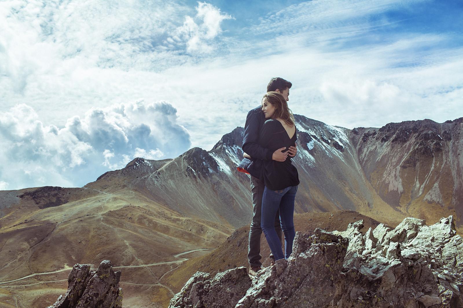 Tapet Landskab, Kvinder, Model, Rock, Natur, Kærlighed, Himmel, Skyer, Jorden, Klippe-6862