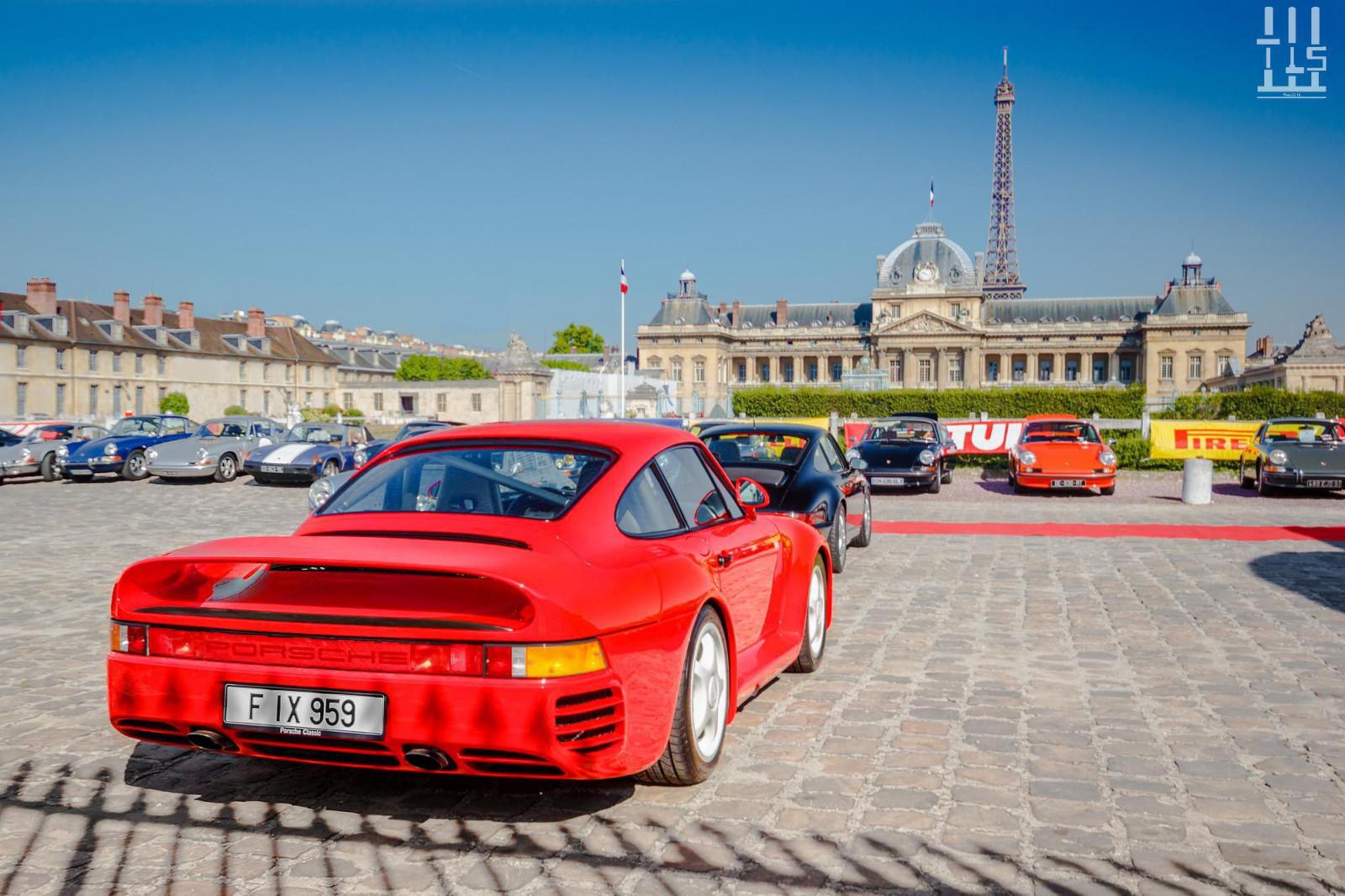 Wallpaper : old, sport, red, vehicle, road, Porsche, luxury, Paris ...