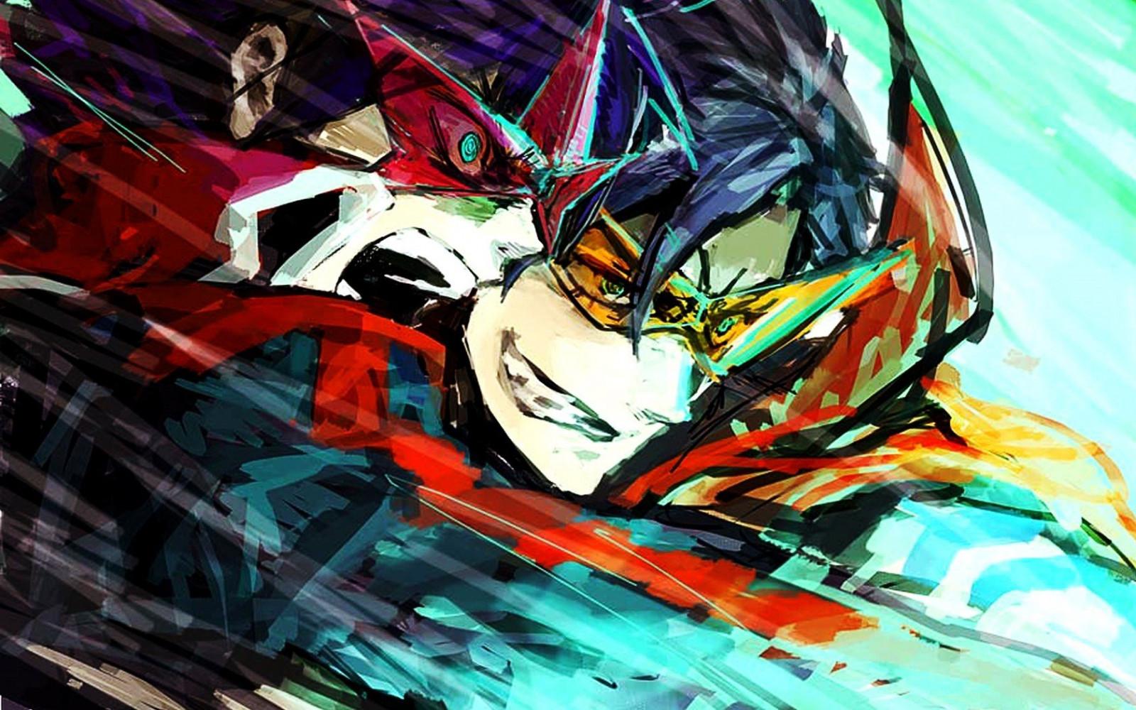 [Imagen: 1680x1050_px_anime_Kamina_simon_Tengen_T...7793.jpg!d]