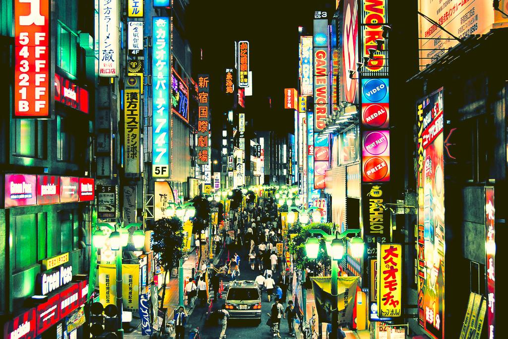 Wallpaper Men Japan Colorful People Women Window City