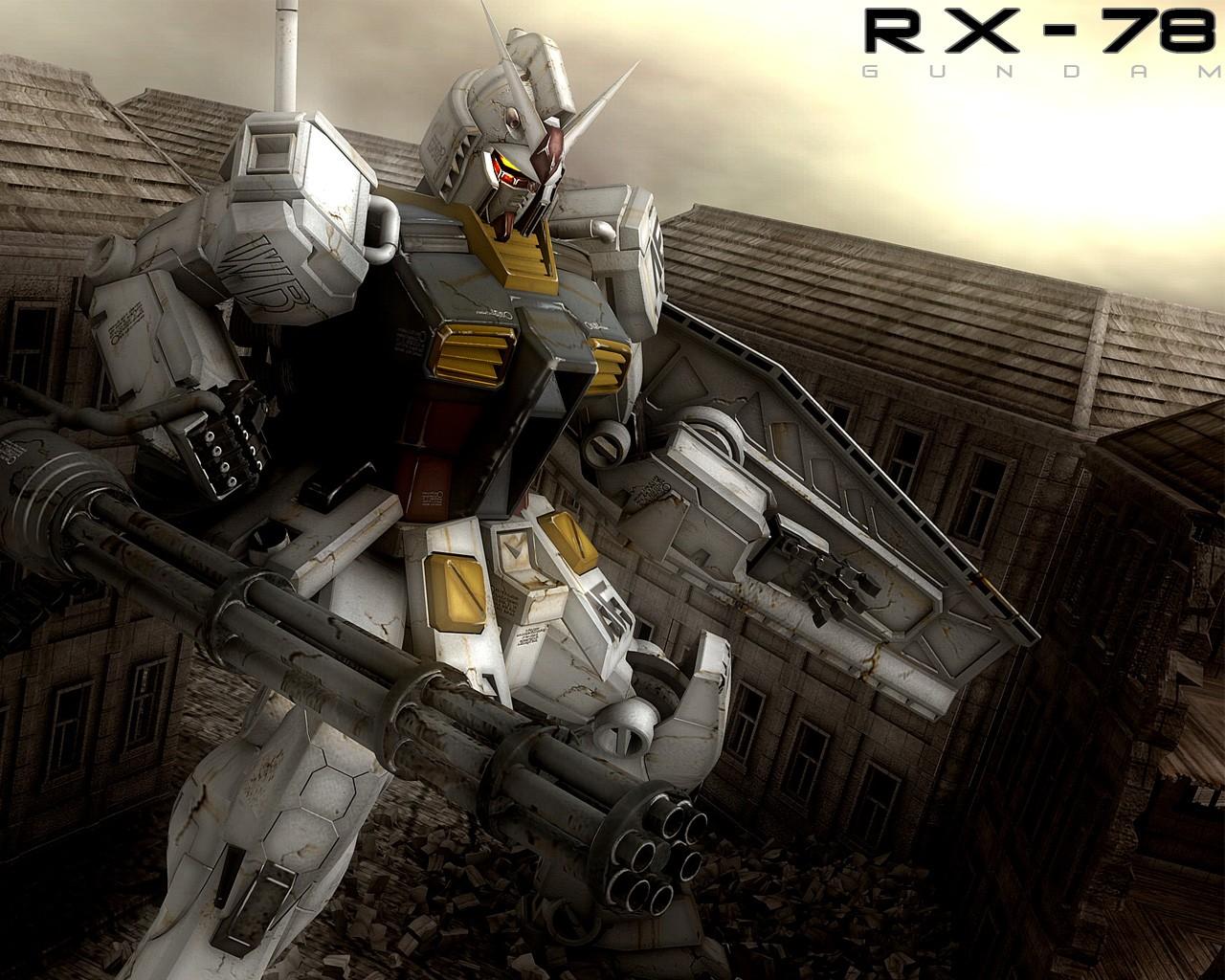 Wallpaper Robot Weapon Soldier Mech Rx 78 Gundam Screenshot