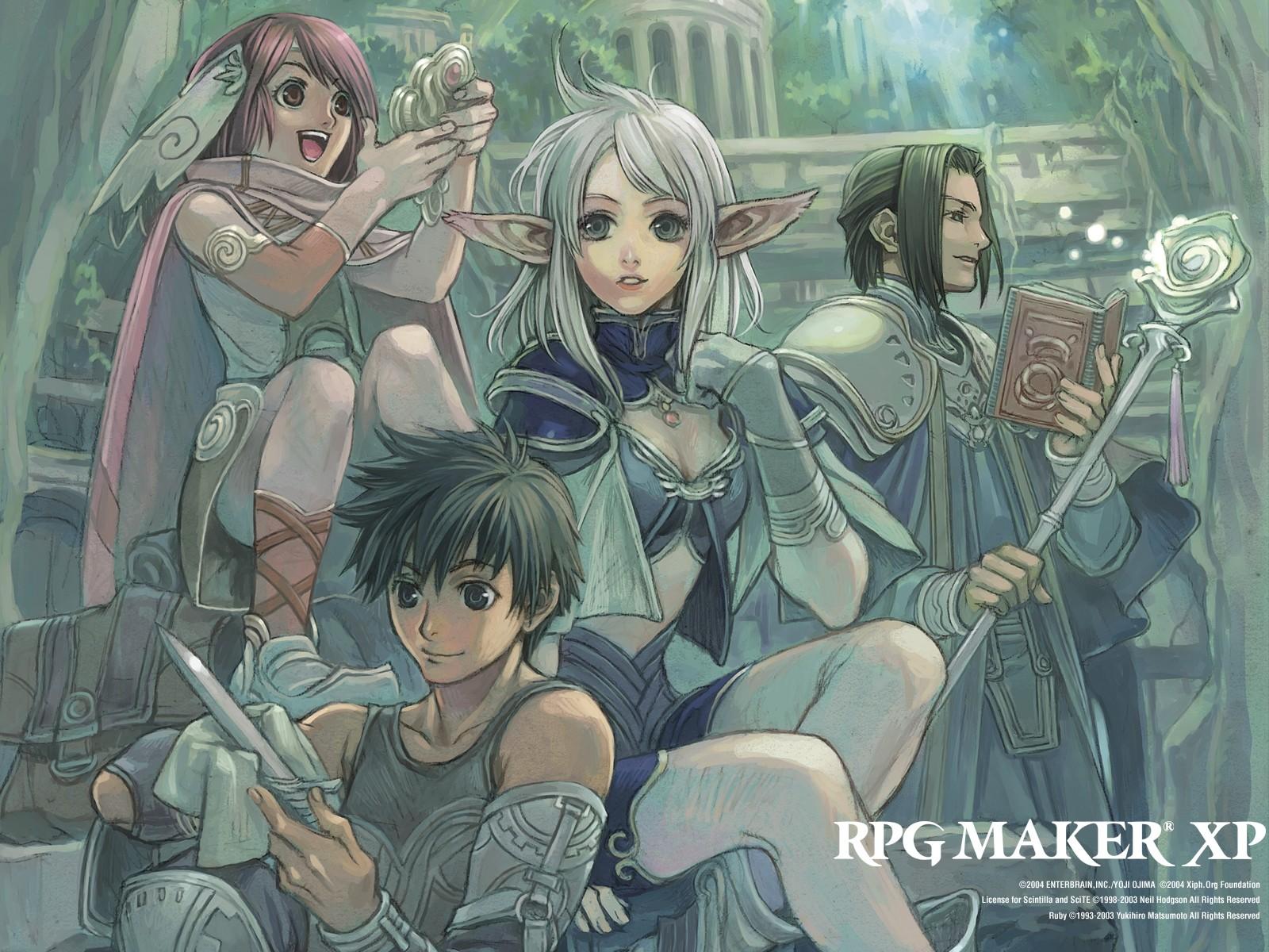Illustration Anime Wizard Rpg Elves Comics Rpg Maker Screenshot Mangaka Comics Artist Comic Book