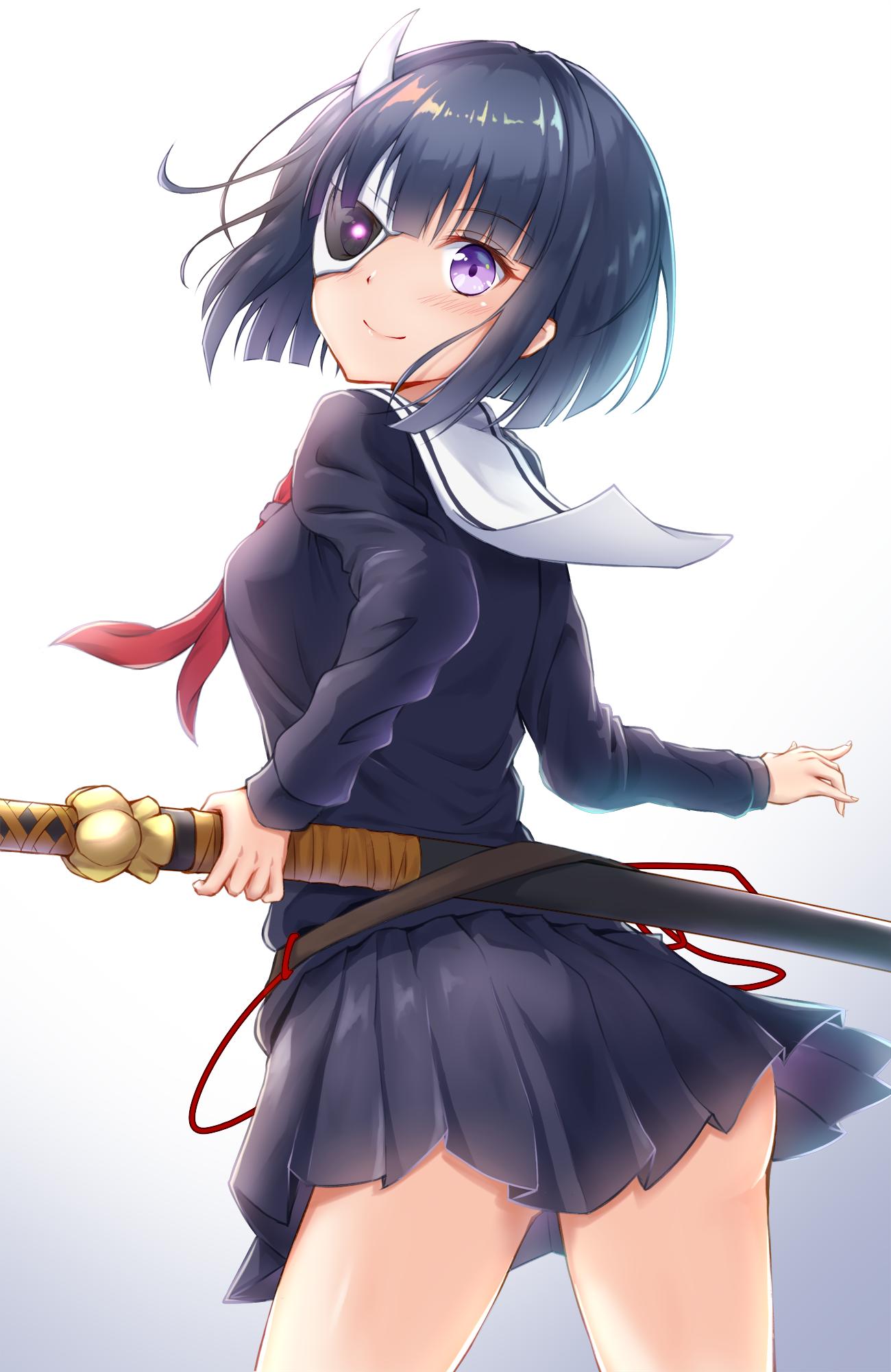 Wallpaper : Busou Shoujo Machiavellianism, anime girls