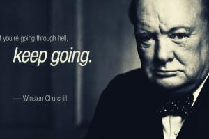Fond D écran Winston Churchill Fausse Citation La