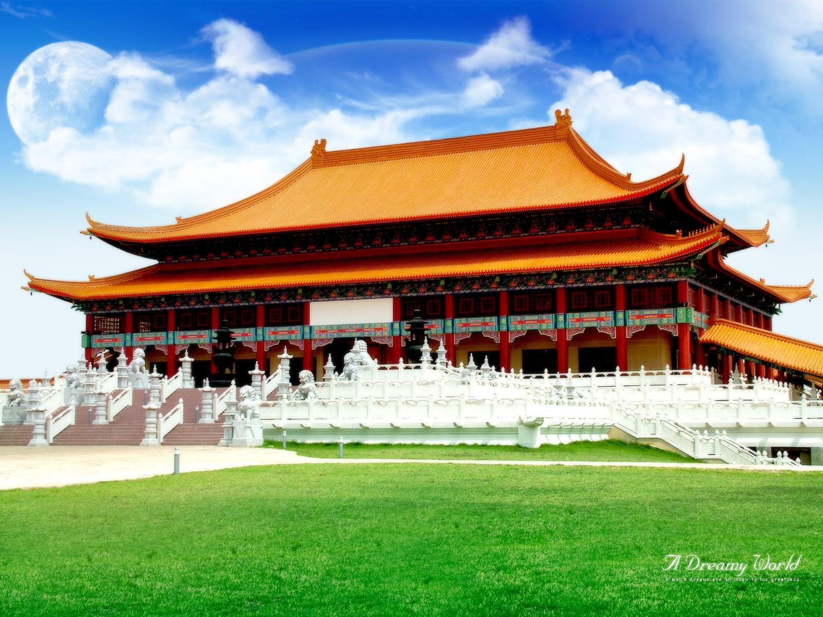 デスクトップ壁紙 寺院 アジアの建築 建物 北京 神社 構造